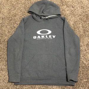 Oakley Hoodie Sweatshirt Size X-Large Gray